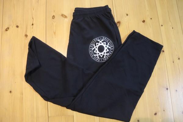 Jogginghose unisex in schwarz