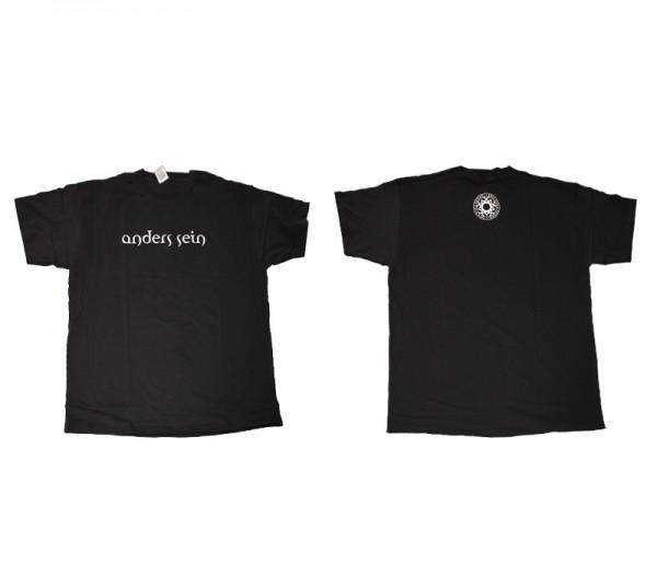 """Herren T-Shirt """"anders sein"""""""